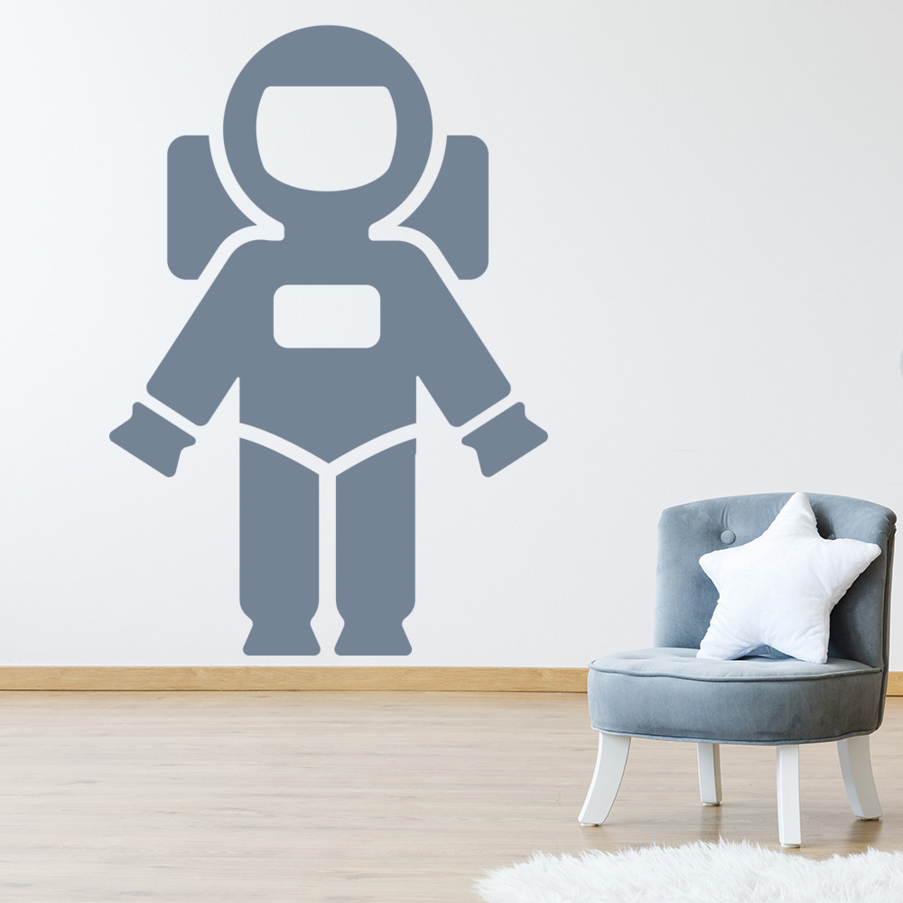 Astronaut Wall Stickers Space Wall Decal Art | eBay