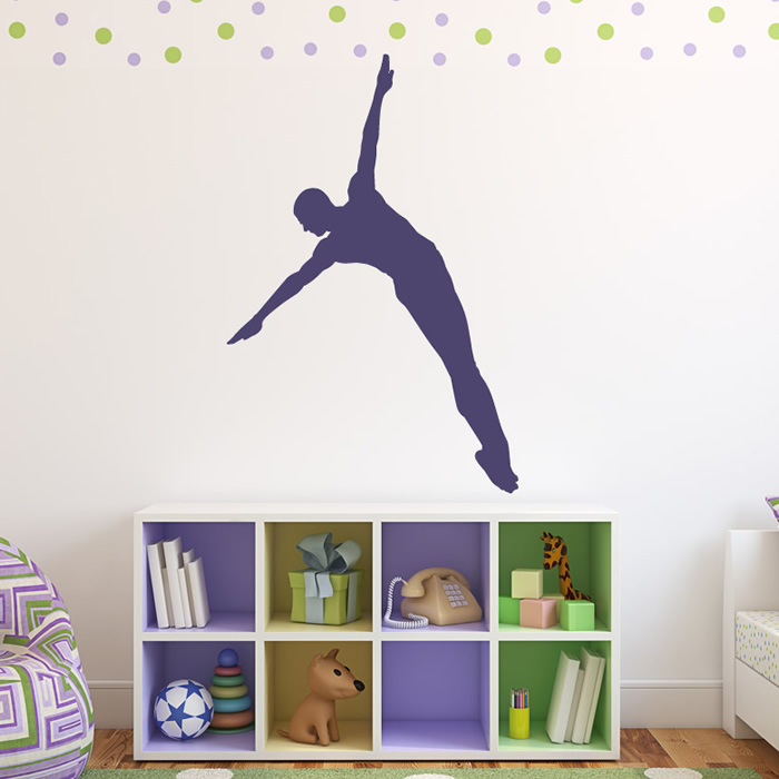 diver wall sticker sport wall decal art gallery image