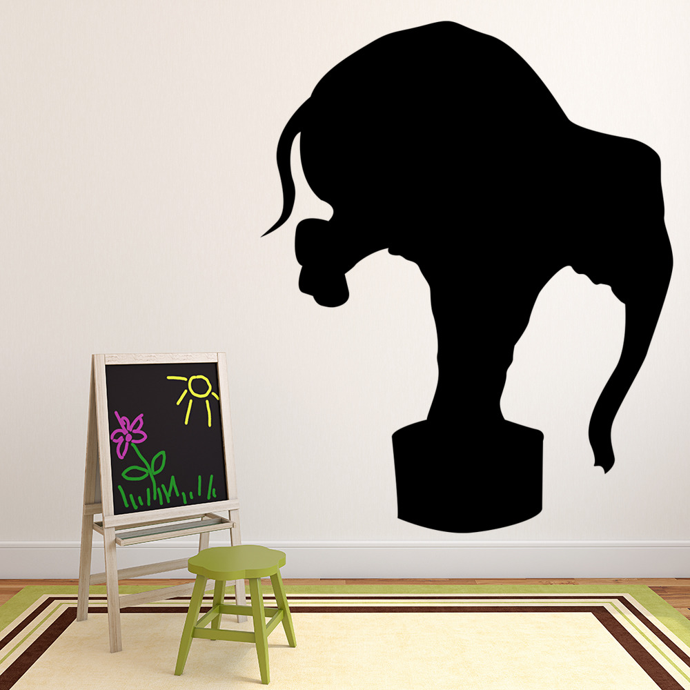 circus elephant wall sticker circus wall decal art circus wall stickers by nick east