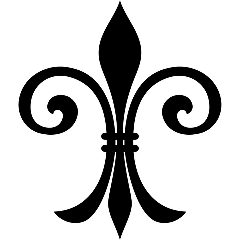 fleur de lis wall stickers embellishment wall art bold fleur de lis wall stickers decorative wall art