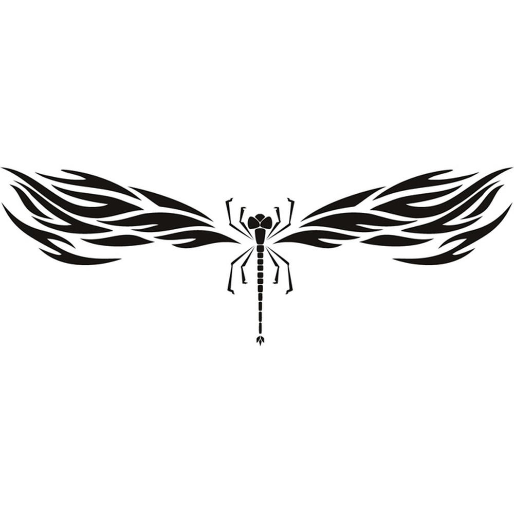 tribal dragonfly wall sticker insect wall decal art ebay 12pcs 3d dragonfly mirror stickers wall decal home living