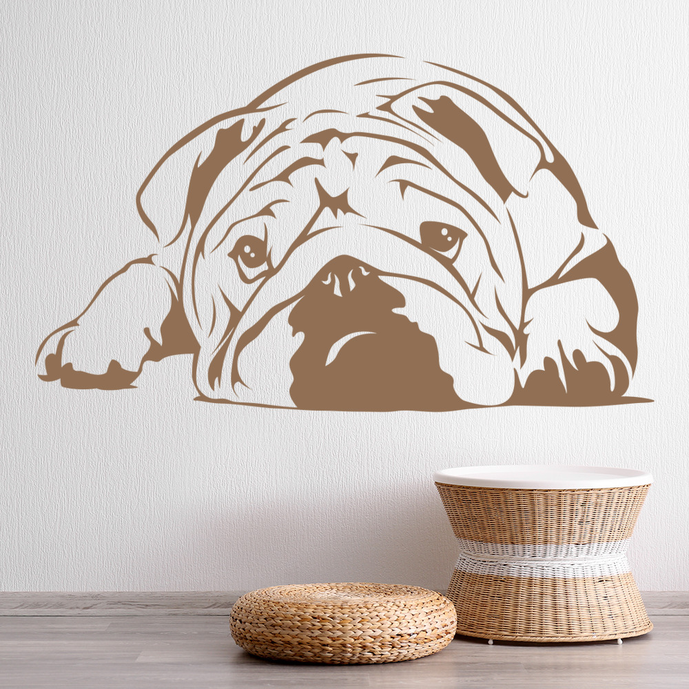 dog wall stickers related keywords amp suggestions dog boxer dog wall art dog wall sticker