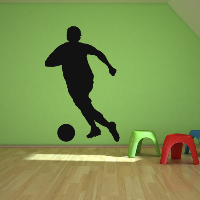football player wall stickers sport wall art