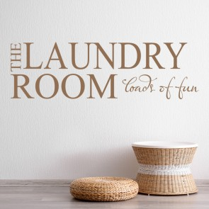 The Laundry Room Wall Sticker Home Wall Art