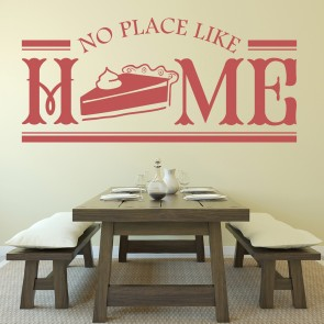No Place Like Home Wall Stickers Kitchen Badge Wall Art