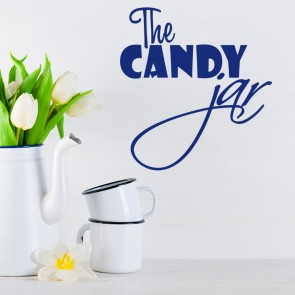 The Candy Jar Text Wall Sticker Text Wall Art
