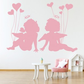 Cherubs Wall Sticker Decorative Wall Art