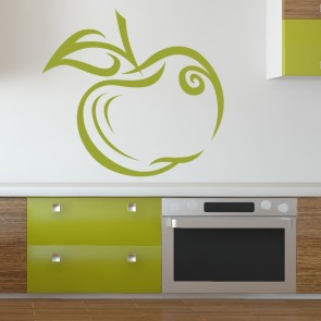 Apple Food Kitchen Teacher Print Wall Art Stickers