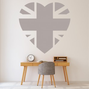 Union Jack Wall Sticker Flag Wall Art