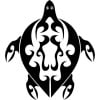 Tribal Sea Turtle Sea Creature Tribal Animals Wall Stickers Home Decor Art Decal