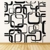 Square Patterns Retro Decorative Patterns Wall Stickers Home Decor Art Decals