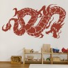 Oriental Flying Dragon Fantasy Chinese Dragon Wall Stickers Home Decor Art Decal