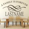A Family Is Forever Personalised Religious Quotes Wall Stickers Home Art Decals
