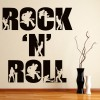 Rock N Roll Rock Band Musicians & Band Logos Wall Stickers Music Art Decals
