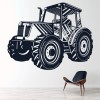 Farming Industrial Machines Wall Stickers Construction Decor Art Decals