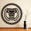 Greek Badge Greece Statue Rest of the World Wall Stickers Home Decor Art Decals