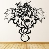 Tribal Pattern Dragon Centrepiece Dragons Wall Stickers Home Decor Art Decals