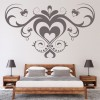 Heart Embellishment Abstract Love Hearts Wall Stickers Home Decor Art Decals