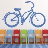 Classic Bicycle Bike BMX & Cycling Wall Stickers Sport Home Decor Art Decals