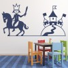 Prince And Castle Fairytale Princess And Fairy Wall Stickers Bedroom Art Decals