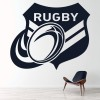Rugby Badge Wall Art Sticker Wall Decal