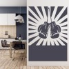 Boxing Gloves Wall Sticker Sports Wall Art