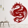 Dragon Print Decorative Wall Art Stickers Wall Decal
