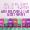 I Live For The Nights… Life And Inspirational Quote Wall Stickers Art Decals