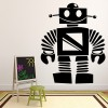 Happy Robot Childrens Planets And Space Wall Stickers Solar System Art Decals