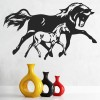 Mare And Foal Running Farmyard Animals Wall Stickers Home Decor Art Decals