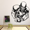 American Football Player Sketch American Sports Wall Sticker Gym Home Art Decals