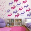 Deer Silhouette Wild Animals Creative Multipack Wall Stickers Home Art Decals