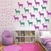 Doe Silhouette Wild Animals Creative Multipack Wall Stickers Home Art Decals