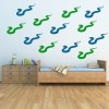 Snake Silhouette Wild Animals Creative Multipack Wall Stickers Home Art Decals