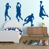 Basketball Group American Sports Multipack Wall Stickers Gym Home Art Decals