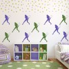Female Tennis Player Tennis Creative Multipack Wall Stickers Gym Sport Art Decal