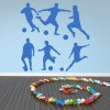 Football Group Football Creative Multipack Wall Stickers Gym Sports Art Decals