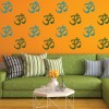 Hindu Symbol Religion And Peace Creative Multipack Wall Stickers Home Art Decals
