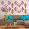 Sikh Emblem Religion And Peace Creative Multipack Wall Stickers Home Art Decals