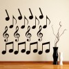 Musical Notes Musical Notes & Instruments Creative Multipack Wall Stickers Decal