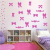 Bows And Ribbons Nursery & Baby Creative Multipack Wall Stickers Home Art Decals