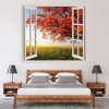 Autumn Tree Seasonal Digital Scene Digital Wall Stickers Home Decor Art Decals