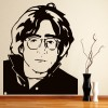 John Lennon Beatles Cartoon Icons & Celebrities Wall Stickers Home Art Decals