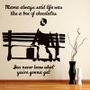 Life Is Like A Box Of Chocolates Forrest Gump TV & Movie Wall Sticker Art Decals