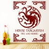 House Of Targaryen Game Of Thrones Fantasy TV & Movie Wall Stickers Home Decals