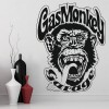 Gas Monkey Garage Logo Icon TV & Movie Wall Stickers Home Decor Art Decals