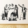 Banksy Old School Wall Sticker Banksy Wall Art