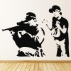 Banksy Sniper Wall Sticker Banksy Wall Art