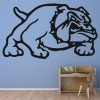 Cartoon English Bulldog Wall Sticker Dog Wall Art
