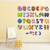 Alphabet Patterns Digital Wall Sticker